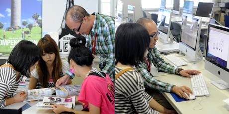 9月26日、27日NSCカレッジでは体験入学を開催しました。  その1_b0110019_1724584.jpg