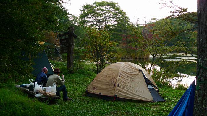 駒出池キャンプ場その2 白駒池 八千穂レイクで岩魚釣り!_d0108737_21351093.jpg