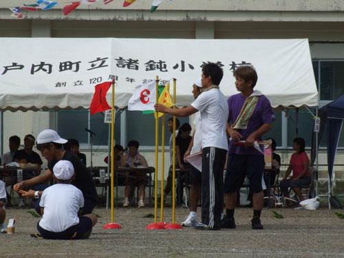 諸鈍小中学校「大運動会」、赤組頑張れ(った)! その2_e0028387_13411188.jpg
