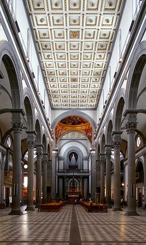 フィレンツェの夏の夜空と巨匠の競作~サンロレンツォ聖堂_f0106597_15531485.jpg