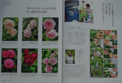 会員が雑誌My GARDEN 2009. 秋号に登場!_a0094959_10531640.jpg