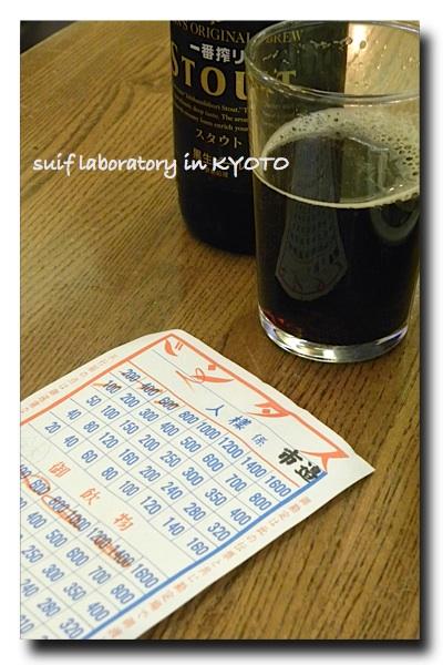 ワタシ的京都ガイド 2009 『てっさい堂』〜「酒場放浪記」ふたたび…_c0156468_1985760.jpg