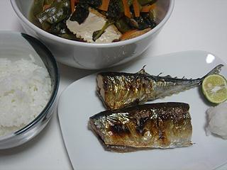 秋刀魚の塩焼き_c0025217_2347219.jpg