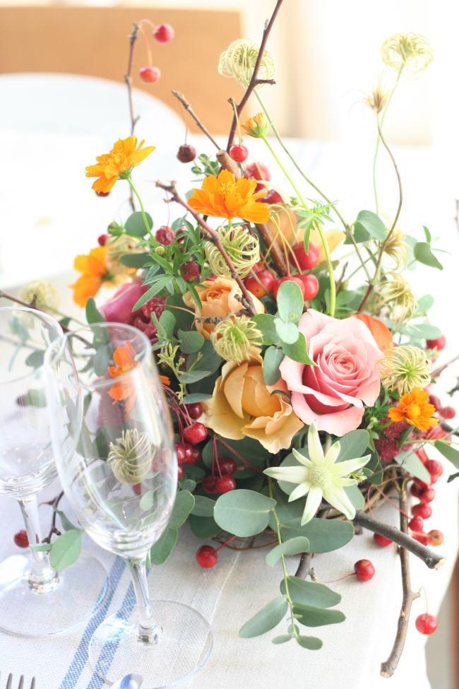 美味しいイタリアンと花のレッスン カーサリンガ_a0042928_1959232.jpg