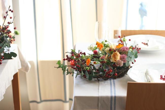 美味しいイタリアンと花のレッスン カーサリンガ_a0042928_2001586.jpg