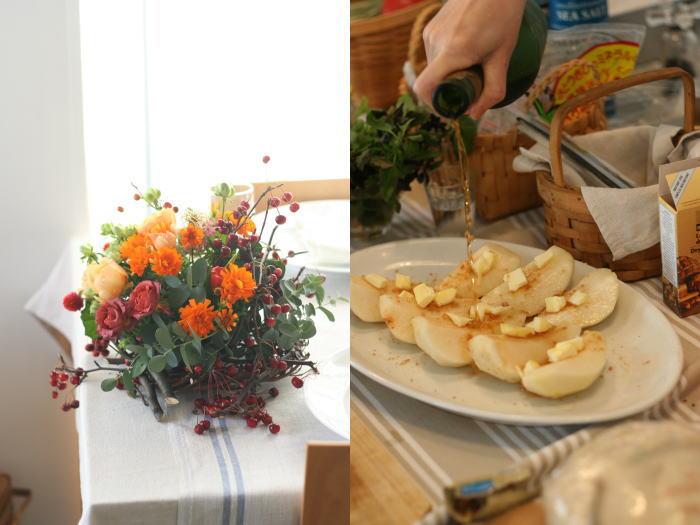 美味しいイタリアンと花のレッスン カーサリンガ_a0042928_2011757.jpg