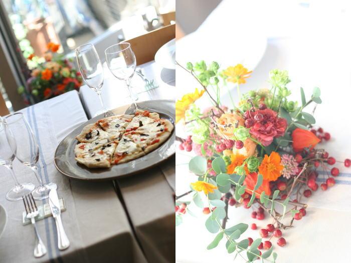 美味しいイタリアンと花のレッスン カーサリンガ_a0042928_2013451.jpg