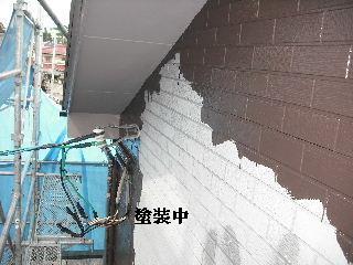 塗装工事四日目_f0031037_2118290.jpg