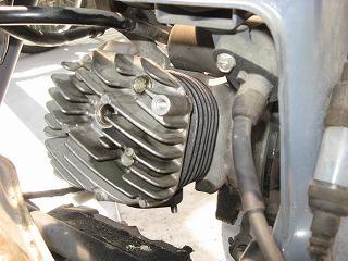ホンダ DIO(AF35)エンジン腰上OH_c0181475_1863688.jpg