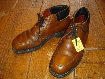 OLD REDWING LEATHER SHOES_c0146178_1235836.jpg