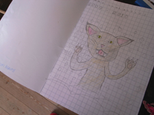 ユキちゃんと山猫_f0106597_177370.jpg