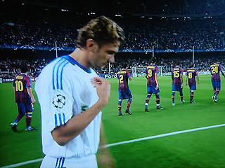 バルセロナ×ディナモ・キエフ UEFAチャンピオンズリーグ 09-10グループリーグ_c0025217_12361075.jpg