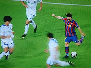 バルセロナ×ディナモ・キエフ UEFAチャンピオンズリーグ 09-10グループリーグ_c0025217_12361777.jpg