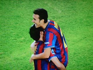 バルセロナ×ディナモ・キエフ UEFAチャンピオンズリーグ 09-10グループリーグ_c0025217_12364959.jpg