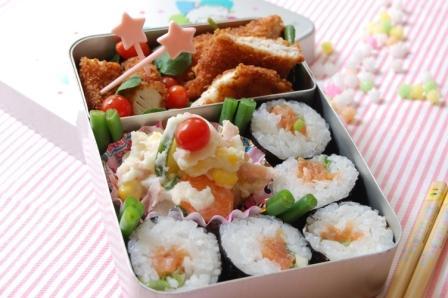 激ウマ!鮭の薬味たっぷり豆板醤ソース_d0104926_2401418.jpg