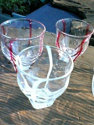 安本善博 フリーカップグラス_c0204333_14434144.jpg