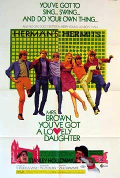 ハーマンズ・ハーミッツの映画『レッツ・ゴー! ハーマンズ・ハーミッツ』(ミセス・ブラウンのお嬢さん)_f0147840_047282.jpg