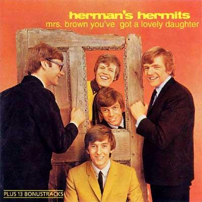 ハーマンズ・ハーミッツの映画『レッツ・ゴー! ハーマンズ・ハーミッツ』(ミセス・ブラウンのお嬢さん)_f0147840_051684.jpg