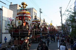 2009年 石動曳山祭り_c0208355_1656482.jpg