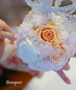 ◆開花の手法で作ったボールブーケレッスン◆_b0111306_2112096.jpg