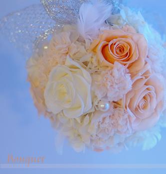 ◆開花の手法で作ったボールブーケレッスン◆_b0111306_21158100.jpg