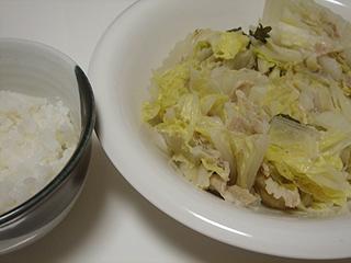 豚バラと白菜の重ね蒸し_c0025217_052974.jpg