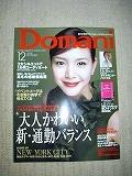 小学館『Domani』12月号にカラーフィールド紹介_c0200917_0171755.jpg