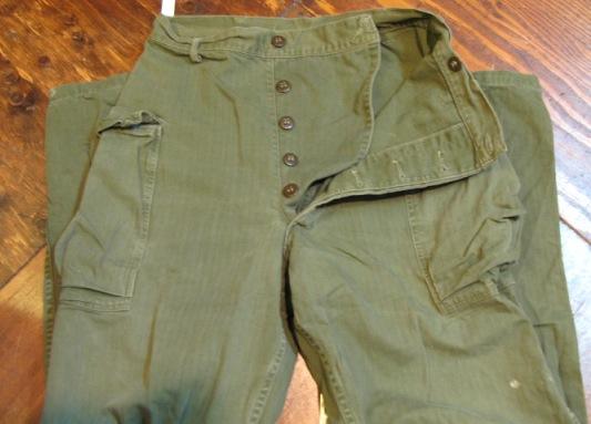 10/3 (土)入荷商品!未掲載分!WWⅡ ARMY HBT PANTS_c0144020_1928197.jpg