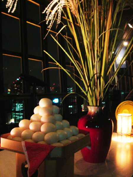 10月3日、東京タワー大展望台でいけばな!_c0178645_055379.jpg