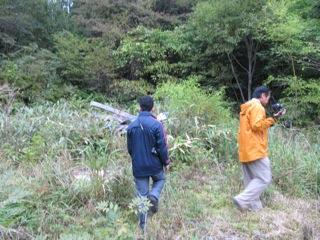 2009.10.2:集落跡を歩く_e0001954_20193545.jpg