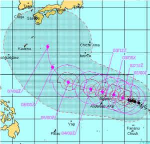 台風が・・・_c0207861_1638527.jpg