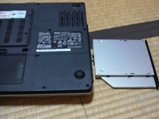 DELLのInspiron6400のDVDドライブを交換しました!_e0188087_751129.jpg