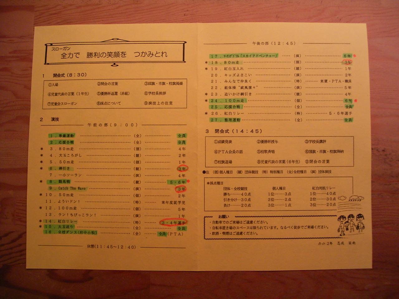 運動会は、いなり寿司・・・。_a0122098_15542423.jpg