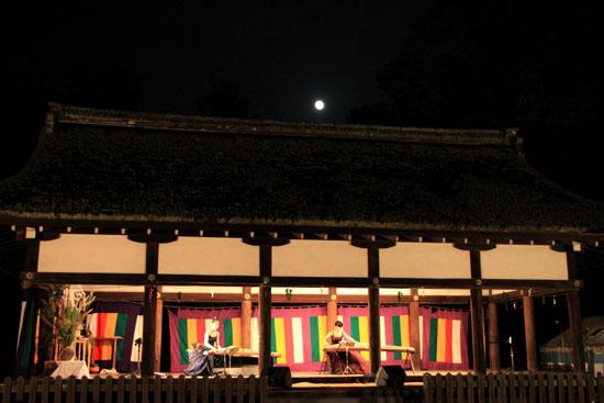 上賀茂神社ー観月祭_e0048413_23512310.jpg