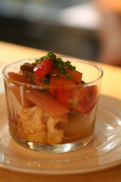 ギリシャ風 野菜のマリネ_e0190216_9165163.jpg