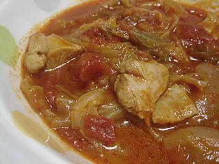 チキンのトマト煮_c0025217_0122259.jpg