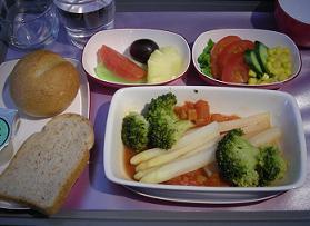 タイ航空の特別機内食に挑戦する_c0030645_1902518.jpg