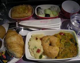 タイ航空の特別機内食に挑戦する_c0030645_20192167.jpg