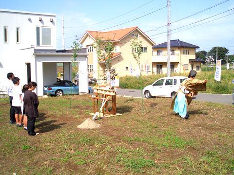 研究学園の家、地鎮祭!_a0059217_153227.jpg
