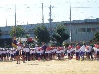 小学校の運動会は秋晴れ_c0133422_23504071.jpg