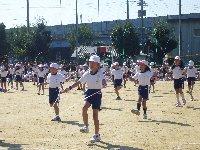 小学校の運動会は秋晴れ_c0133422_23512028.jpg