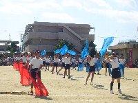 小学校の運動会は秋晴れ_c0133422_23521168.jpg