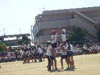 小学校の運動会は秋晴れ_c0133422_23523554.jpg