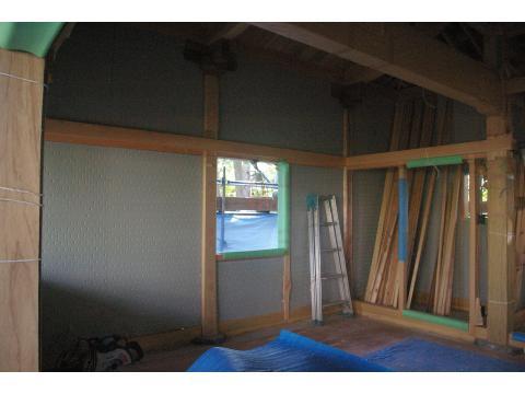 奥の院 内外壁の下地_c0100949_16403097.jpg