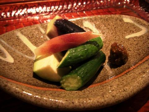 新富町 「潤菜(るさい) どうしん」 でディナー_a0039199_2128109.jpg