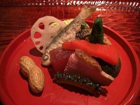 新富町 「潤菜(るさい) どうしん」 でディナー_a0039199_21285053.jpg