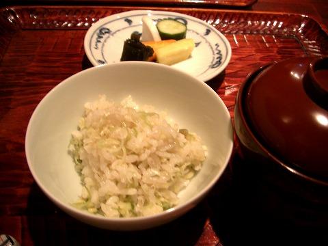 新富町 「潤菜(るさい) どうしん」 でディナー_a0039199_21305219.jpg