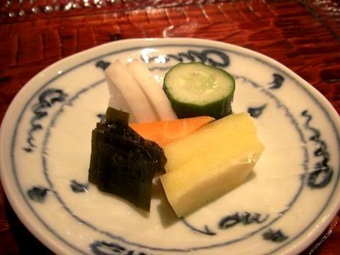 新富町 「潤菜(るさい) どうしん」 でディナー_a0039199_21313047.jpg