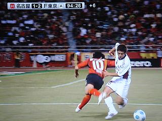 名古屋グランパス×FC東京 J1第28節_c0025217_19455012.jpg