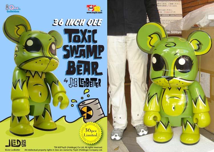 36 inch Qee Swamp Bear-Green  by Joe Ledbetter_e0118156_0123471.jpg